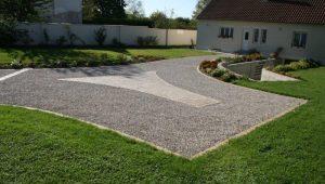 040 burgundy limestone cobbles